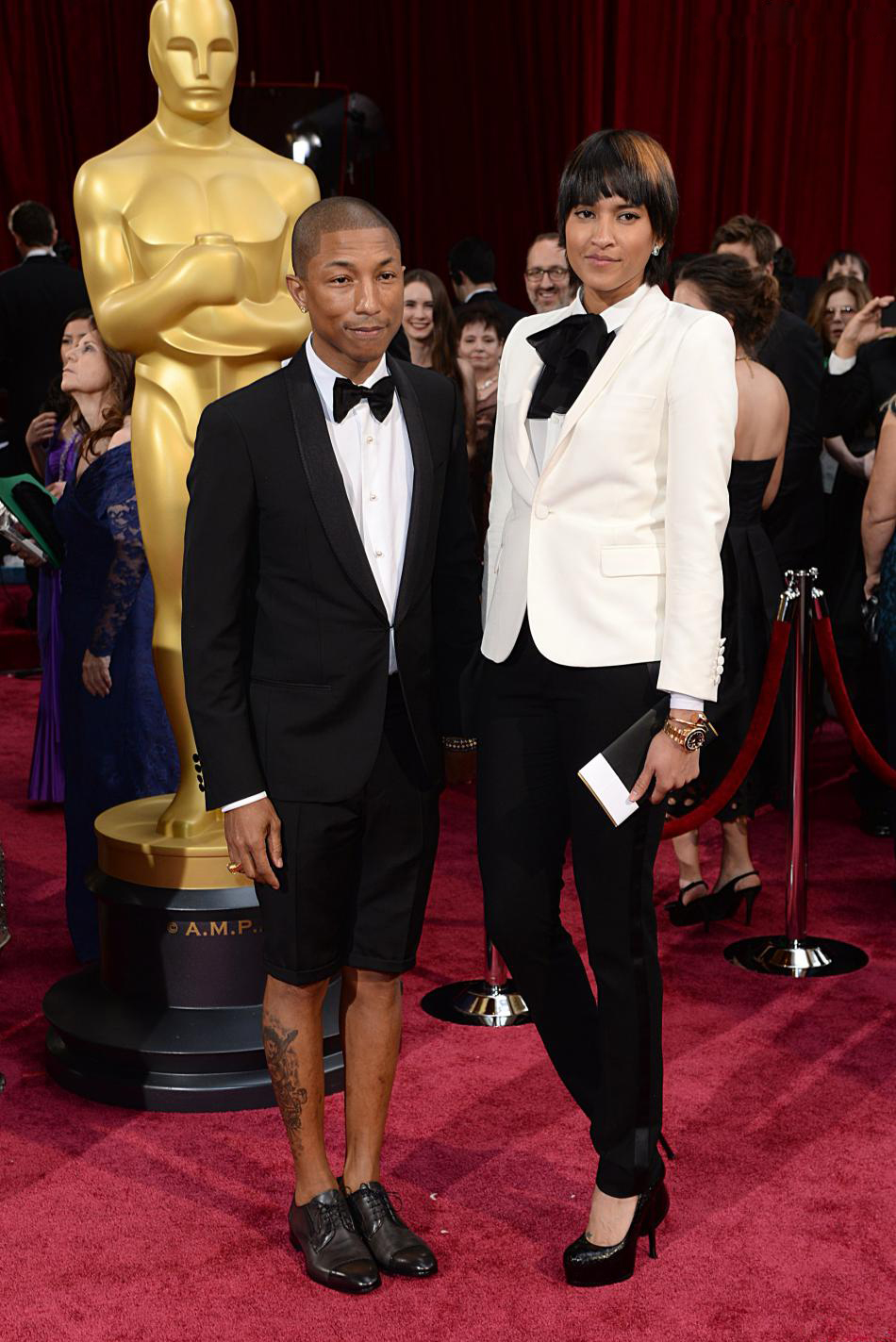 Pharell-Williams-Oscars 2014